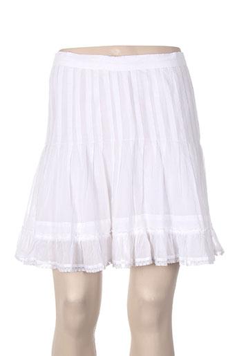 isabel marant jupes femme de couleur blanc