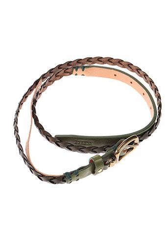 closed accessoires femme de couleur vert