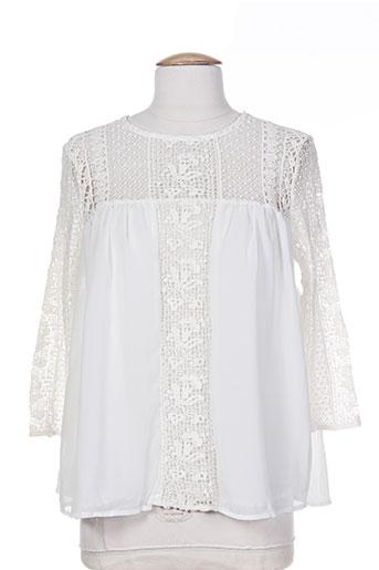 may&co t-shirts / tops femme de couleur beige