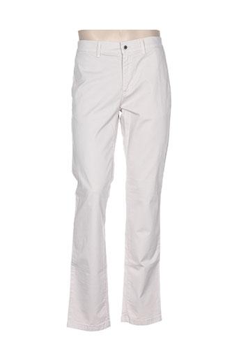 lcdn pantalons homme de couleur beige