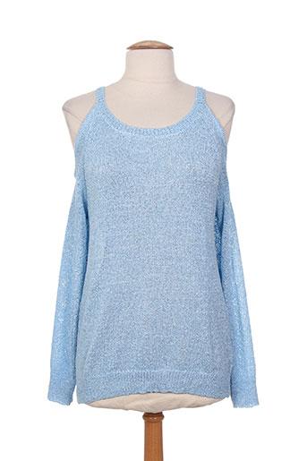 majolica pulls femme de couleur bleu
