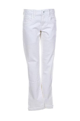 pepe jeans jeans garçon de couleur blanc