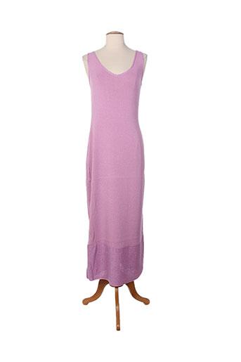 dikton's robes femme de couleur violet