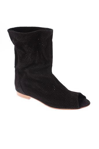 great by sandie chaussures femme de couleur noir