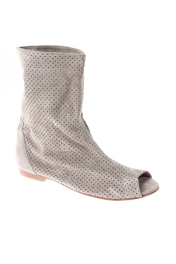 great by sandie chaussures femme de couleur gris
