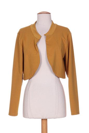 el.ma vestes femme de couleur jaune