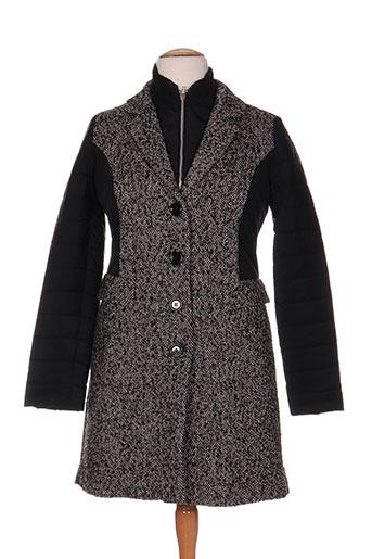 esempio manteaux femme de couleur noir