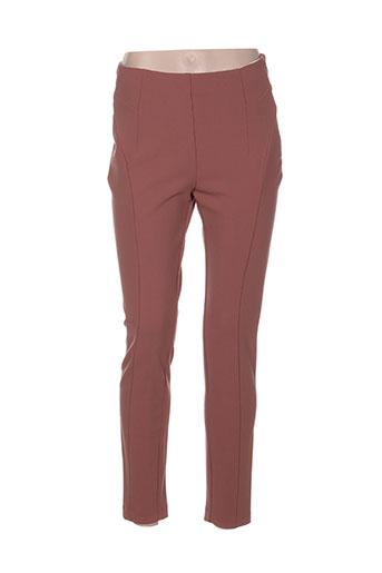 king kong pantalons femme de couleur rose