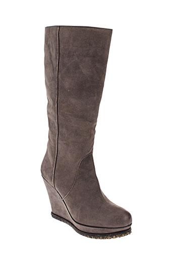 laura busi chaussures femme de couleur marron