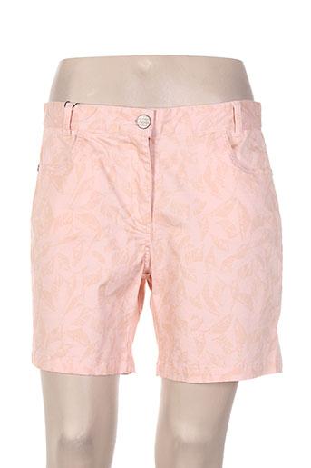 thalassa shorts / bermudas femme de couleur rose
