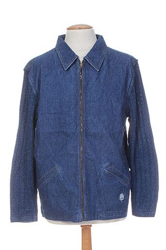 blue willi's vestes homme de couleur bleu