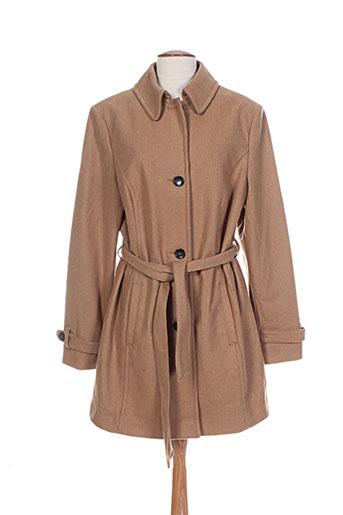s.oliver manteaux femme de couleur beige