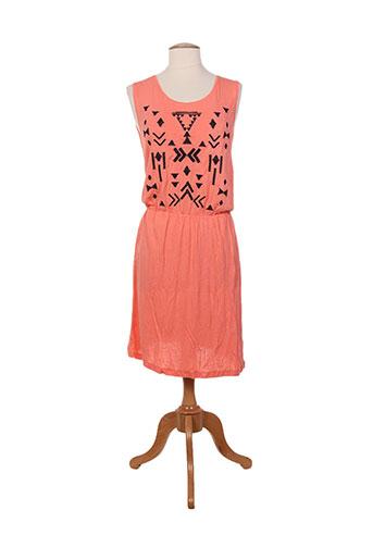 vila robes femme de couleur orange