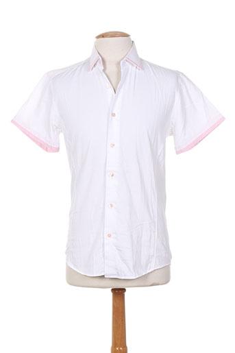chrom men chemises homme de couleur blanc