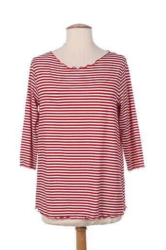 crazy wool t-shirts femme de couleur rouge