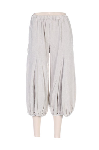 moyuru pantacourts femme de couleur gris