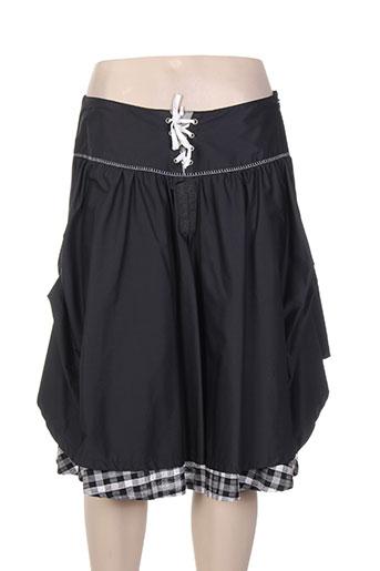 instants voles jupes femme de couleur noir