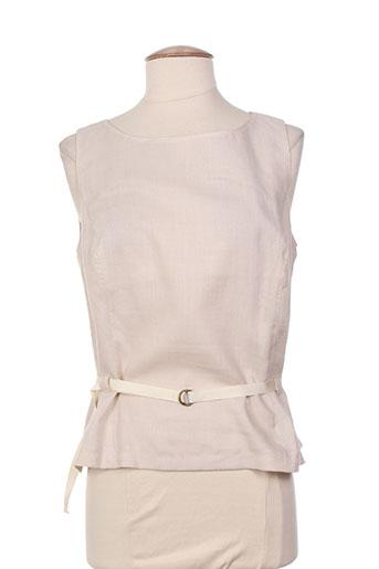 initiative chemises femme de couleur beige