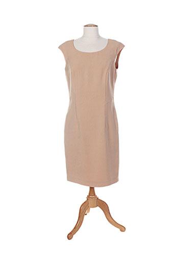 jean claire robes femme de couleur beige