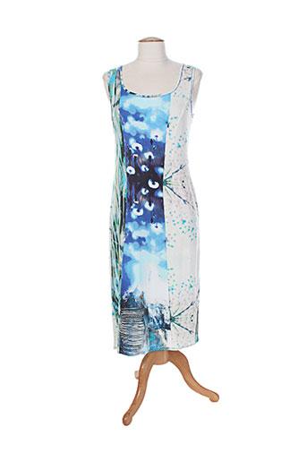 saint charles robes femme de couleur bleu