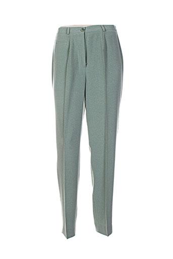 markwald pantalons femme de couleur bleu