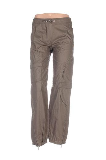 Pantalon casual vert CONCEPT K pour femme