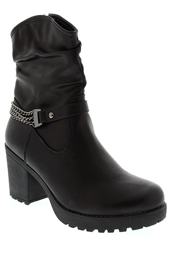 j&j the original chaussures femme de couleur noir