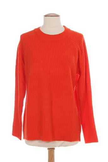 ichi pulls femme de couleur orange