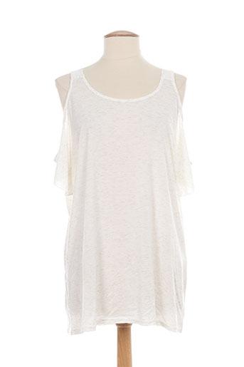 holly EFFI_CHAR_1 joey tuniques femme de couleur blanc