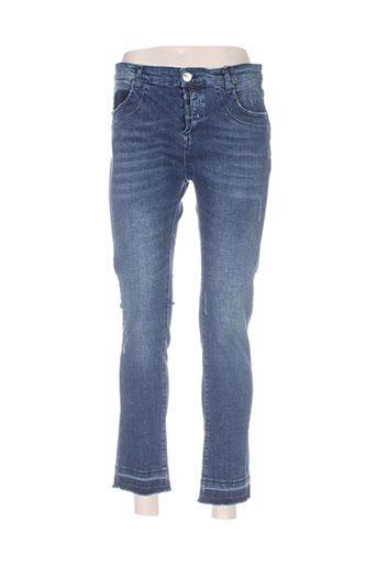 heartless jeans jeans femme de couleur bleu