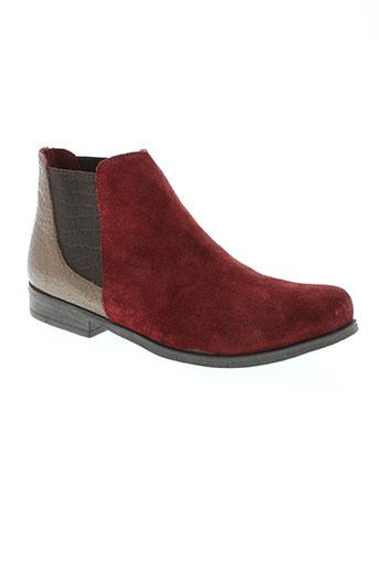 lune EFFI_CHAR_1 l'autre chaussures femme de couleur rouge