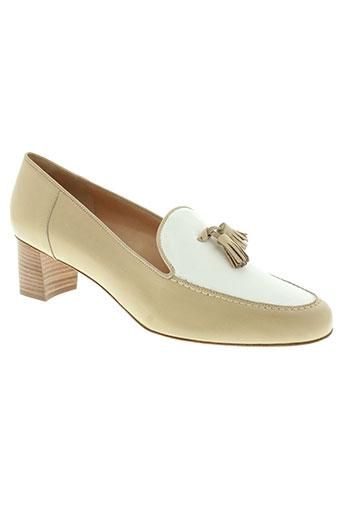lario chaussures femme de couleur beige