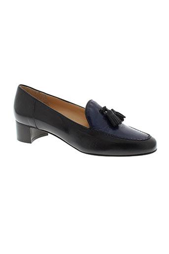 lario chaussures femme de couleur bleu