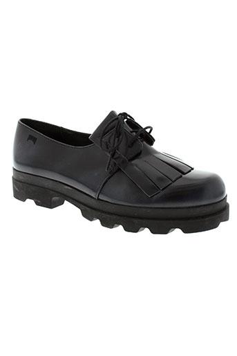 camper chaussures femme de couleur bleu