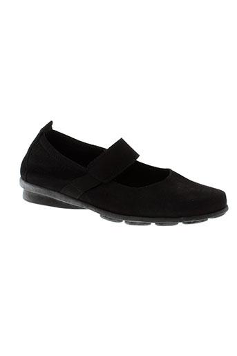 arche chaussures femme de couleur noir