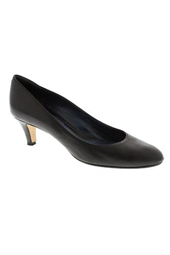 lario chaussures femme de couleur noir
