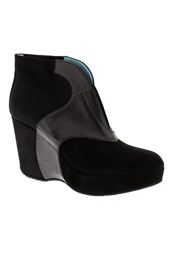 thierry rabotin chaussures femme de couleur noir