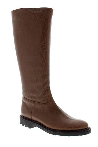 robert clergerie chaussures femme de couleur marron