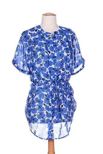 rosa faia tuniques femme de couleur bleu