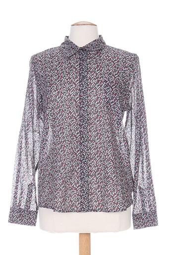 armor lux chemises femme de couleur gris