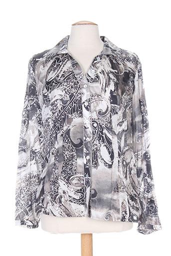 apanage chemises femme de couleur gris