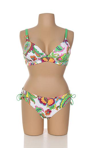 cherry beach maillots de bain femme de couleur vert