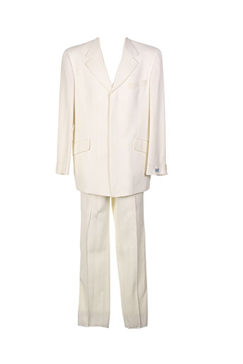 kenzo costumes homme de couleur blanc
