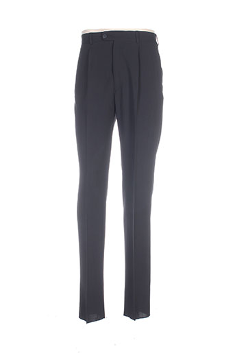bernard zins pantalons homme de couleur noir