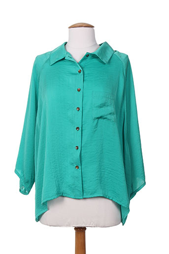 an ii vito chemises femme de couleur vert