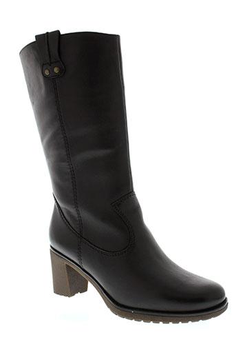 jenny et ara bottes femme de couleur noir