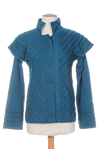 bamboo's vestes femme de couleur bleu