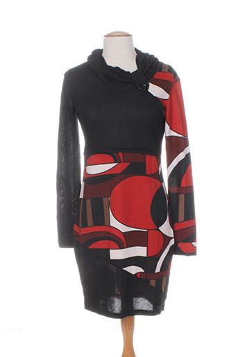 bamboo's robes femme de couleur noir