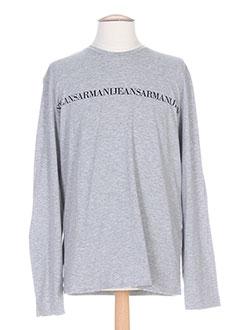 Produit-T-shirts / Tops-Homme-ARMANI