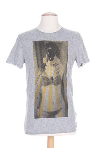 antony morato t et shirts et tops homme de couleur gris